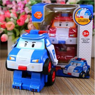 Đồ chơi mô hình xe cảnh sát dễ thương xinh xắn