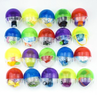 pufang MUV 45mm 5pcs plastic balls capsules toys with different small toys vending mach
