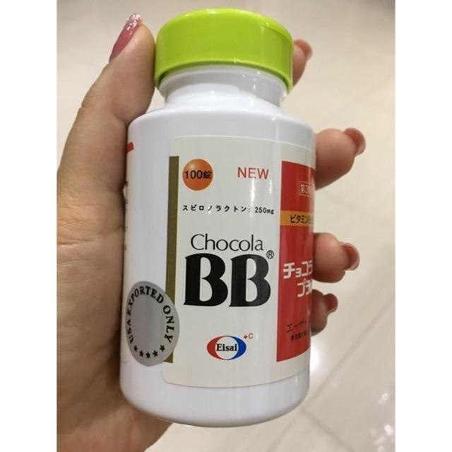 Viên uống trị mụn nội tiết CHOCOLA BB NEW PLUS