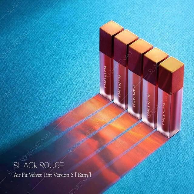 [Mã COSFS3 giảm 10% đơn 150K] Son Kem Black Rouge Air Fit Velvet Tint Version 5