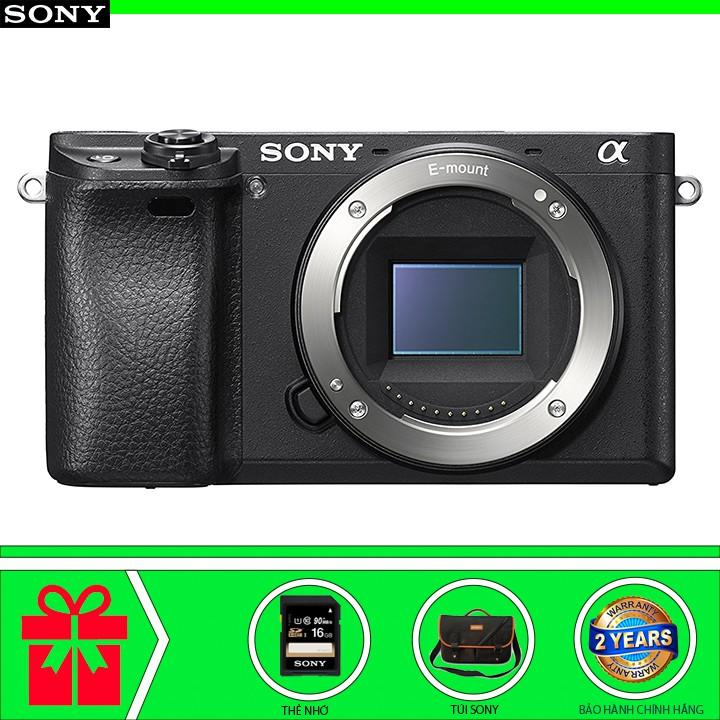 Máy ảnh Sony Alpha A6300 - Body (Chính hãng) - Tặng thẻ nhớ Sony 16GB + Túi Alpha