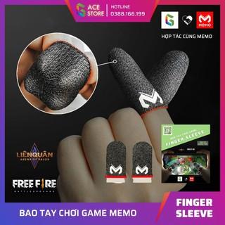 Bao tay chơi game Memo Finger Sleeve dành cho game mobile PUBG mobile, Freefire, Liên Quân, Tốc Chiến