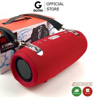 Loa Bluetooth Không Dây Siêu Bass Âm Thanh Trầm Nghe Nhạc Usb Thẻ Nhớ Tặng Dây Quai Đeo Gutek Xtreme 2