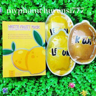 Ủ Trắng Chanh Lemon – CHÍNH HÃNG ( Hộp 3 Gói)