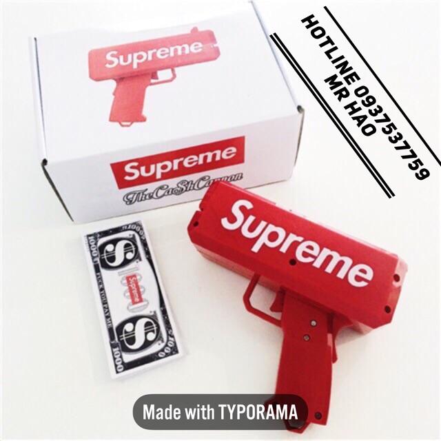 Fullbox Súng bắn tiền Supreme