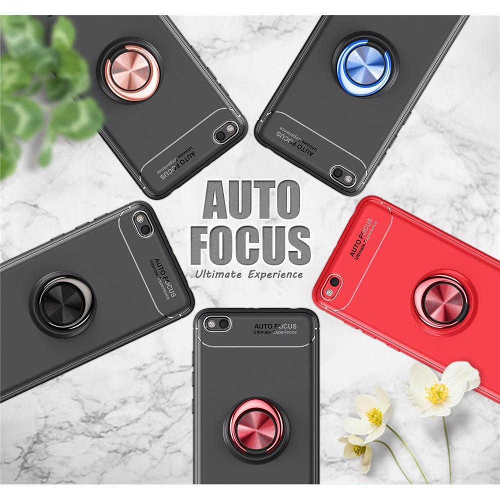 Ốp điện thoại màu trơn có giá đỡ nam châm thời trang cho Xiaomi Redmi 4A