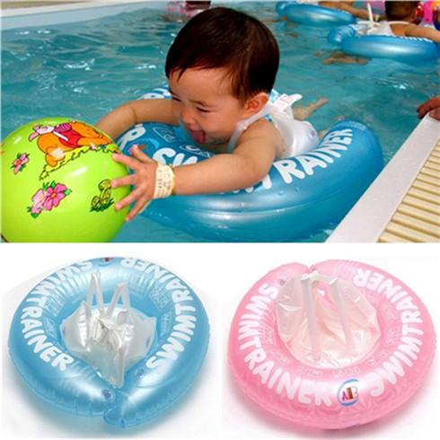 Phao Tập Bơi Có Đai Chống Lật Bảo Vệ Cho Bé