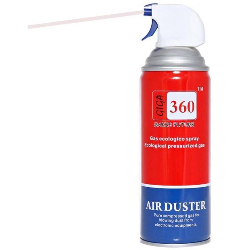 Bình xịt bụi khí nén Air duster 630 vệ sinh máy tính kèm ống
