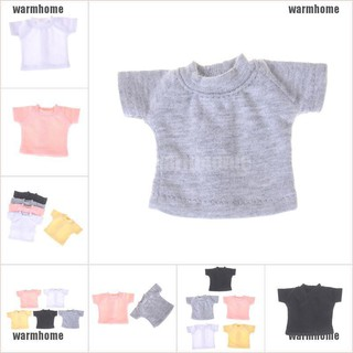 warmhome Clothes For 1/6 Blyth For azone licca Doll T-shirt Obitsu11 Doll Clothes Gift To thro