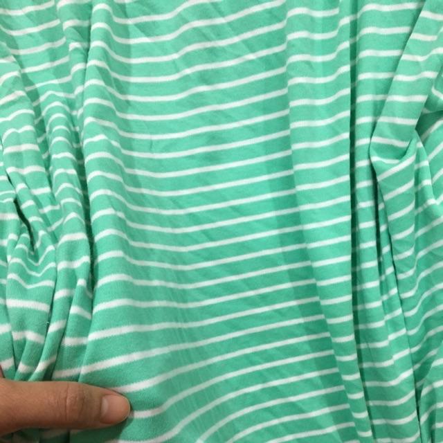 (Nam Giang Nguyen) vải cotton kê xanh
