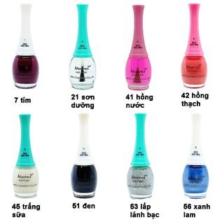 Sơn móng tay cực kỳ sang chảnh Aroma Nail Polish Hàn Quốc 12ml thumbnail