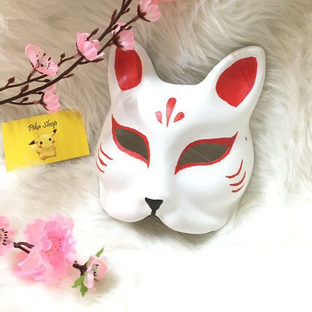 M02 Kitsune mask – mặt nạ cáo xả lỗ nghỉ MS8395