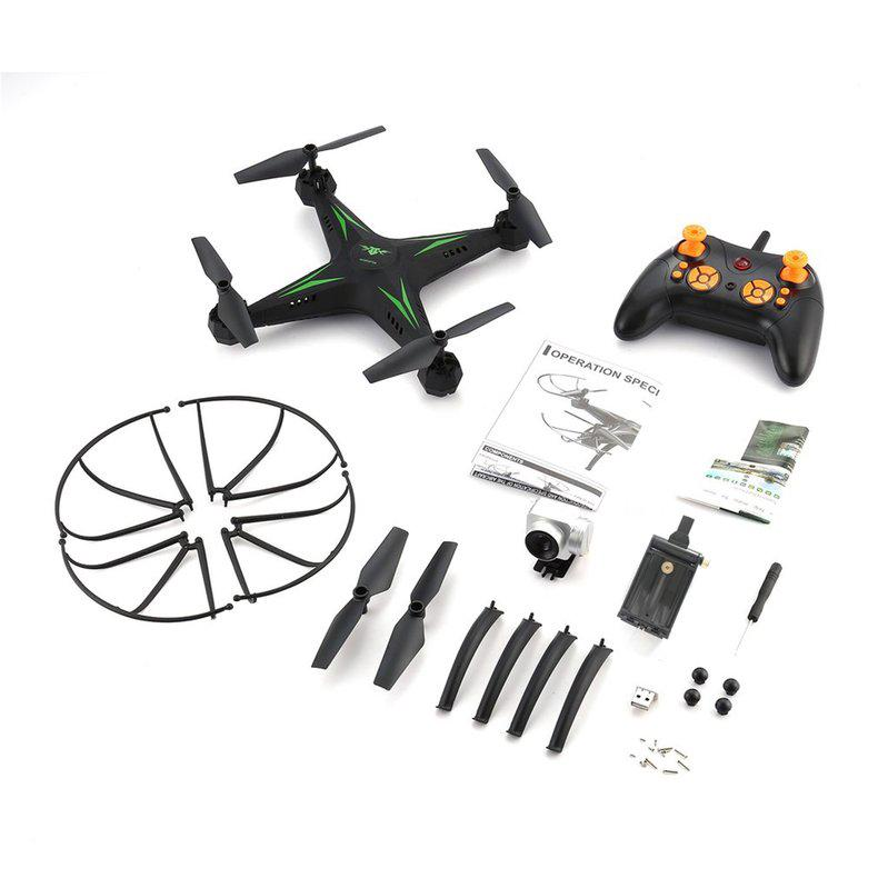 KY501 0.3MP WiFi Quadcopter Aircraft Aircraft Headless Mode Remote Control