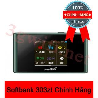 Bộ Phát Wifi 4G SoftBank 303ZT, 3G/4G MIFI LTE, Huawei 303HW – Cục Phát Wifi 303ZT NHẬT BẢN Tốc Độ 4G Siêu Nhanh