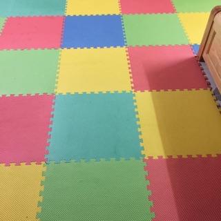 Thảm xốp ghép trộn màu bịch 6 tấm khổ 60x60cm