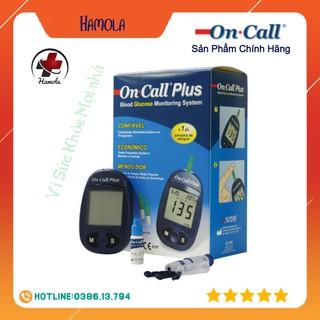 Máy Đo Đường Huyết Acon On Call Plus + Tặng hộp 25 que thử và hộp 50 kim chích máu