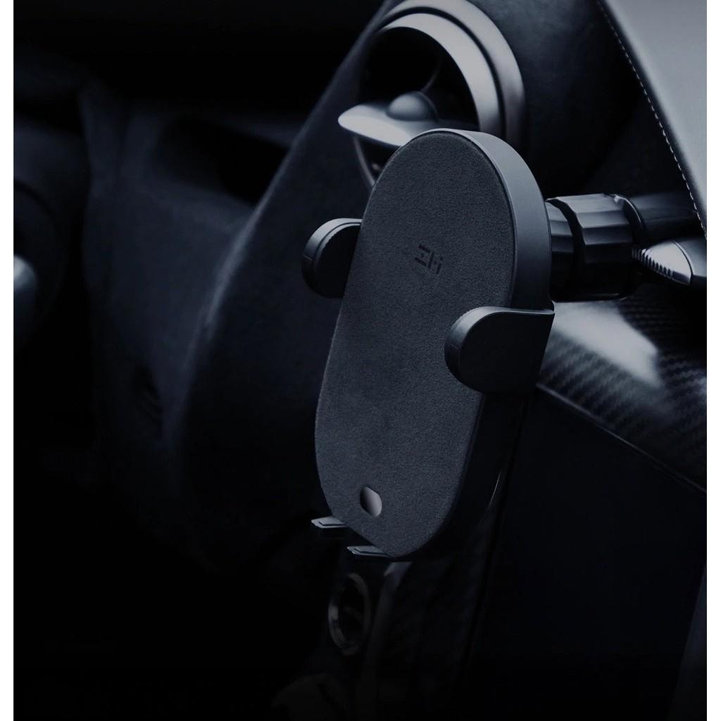 [Mã 267ELSALE hoàn 7% đơn 300K] Đế giữ tự động kiêm sạc không dây ô tô ZMI WCJ11 10W