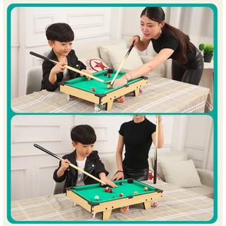 Đồ chơi Bi-da bằng gỗ 69 x 36.5 x 22.5cm