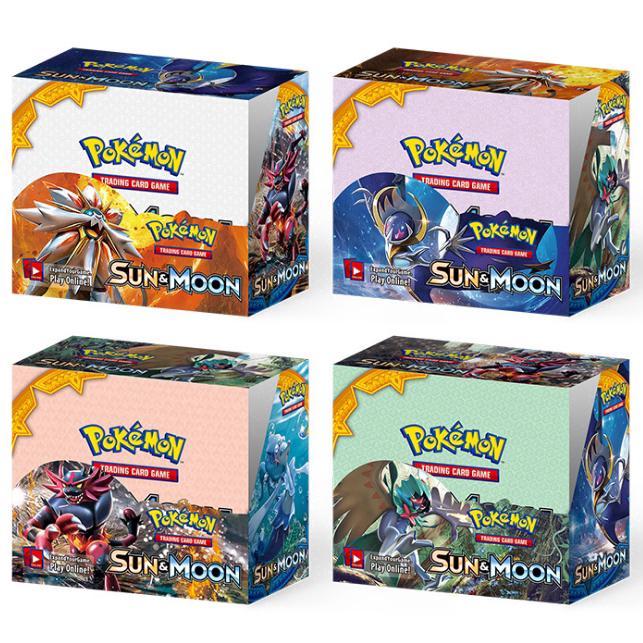 Hộp 324 thẻ bài Pokemon GX Battle Boost chất lượng cao