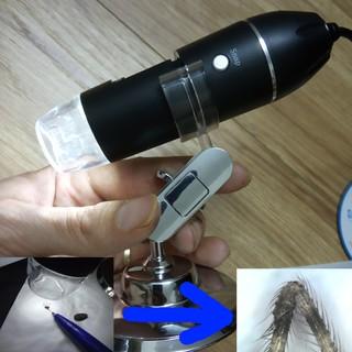 Kính hiển vi điện tử kết nối điện thoại và máy tính phóng đại 1600X Digital Microscope