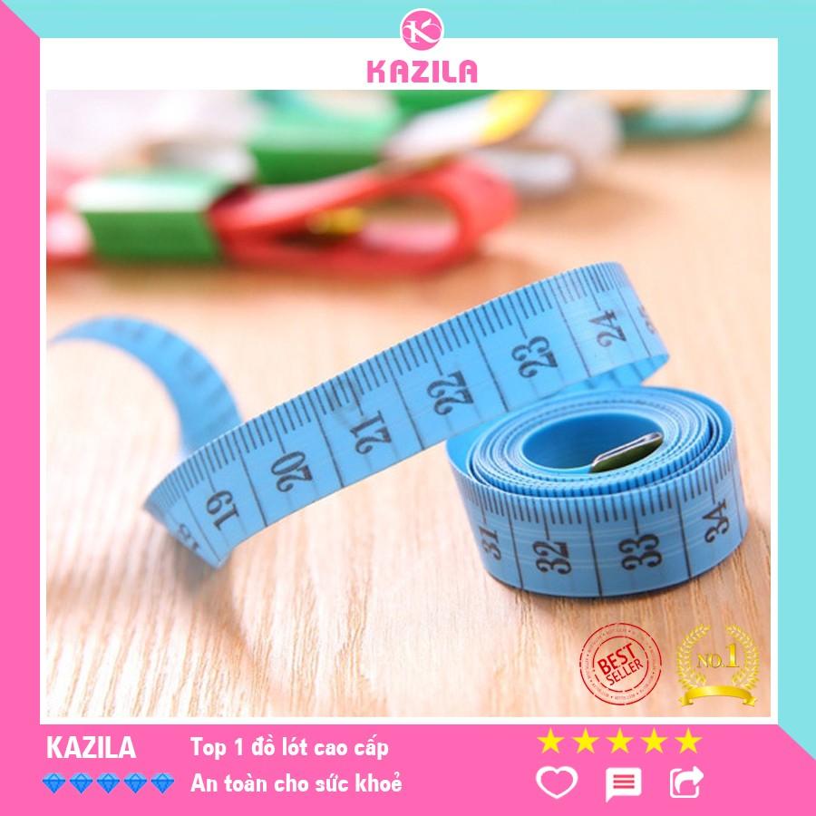 Thước dây 1.5m nhiều màu, đo 3 vòng cơ thể, đo chiều cao, đo lường may mặc tiện lợi, thước đo nhỏ gọn bền đẹp Kazila TD1