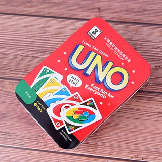 SUN11❤❤uno game cards family funny entertainment board game poker playing