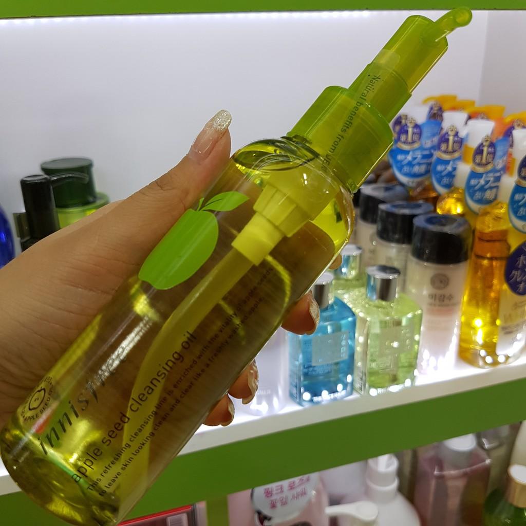 [BÁN SỈ] Dầu Tẩy Trang Táo Innisfree Apple Seed Cleansing Oil - 3091602 , 830650240 , 322_830650240 , 210000 , BAN-SI-Dau-Tay-Trang-Tao-Innisfree-Apple-Seed-Cleansing-Oil-322_830650240 , shopee.vn , [BÁN SỈ] Dầu Tẩy Trang Táo Innisfree Apple Seed Cleansing Oil