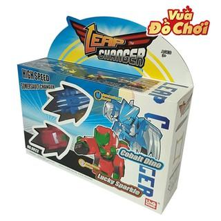 Tốc Chiến Thần Xa – Cobalt Dino vs Lucky Sparkle