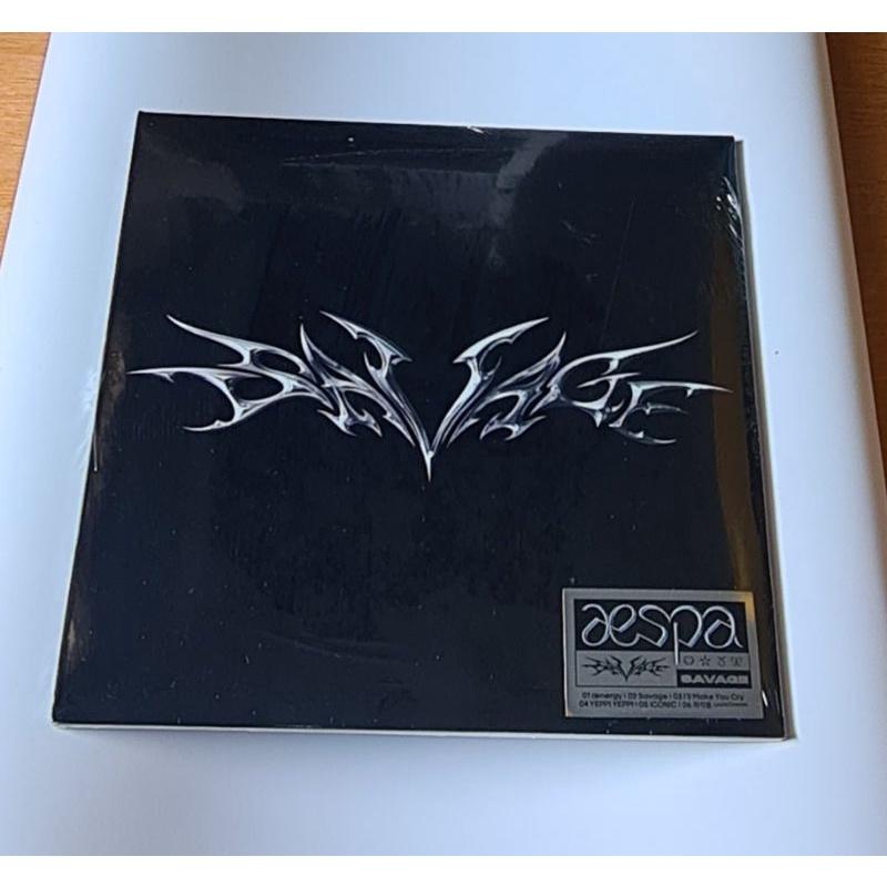 Album ảnh mini Aespa 1st - savage (digipack Ver)