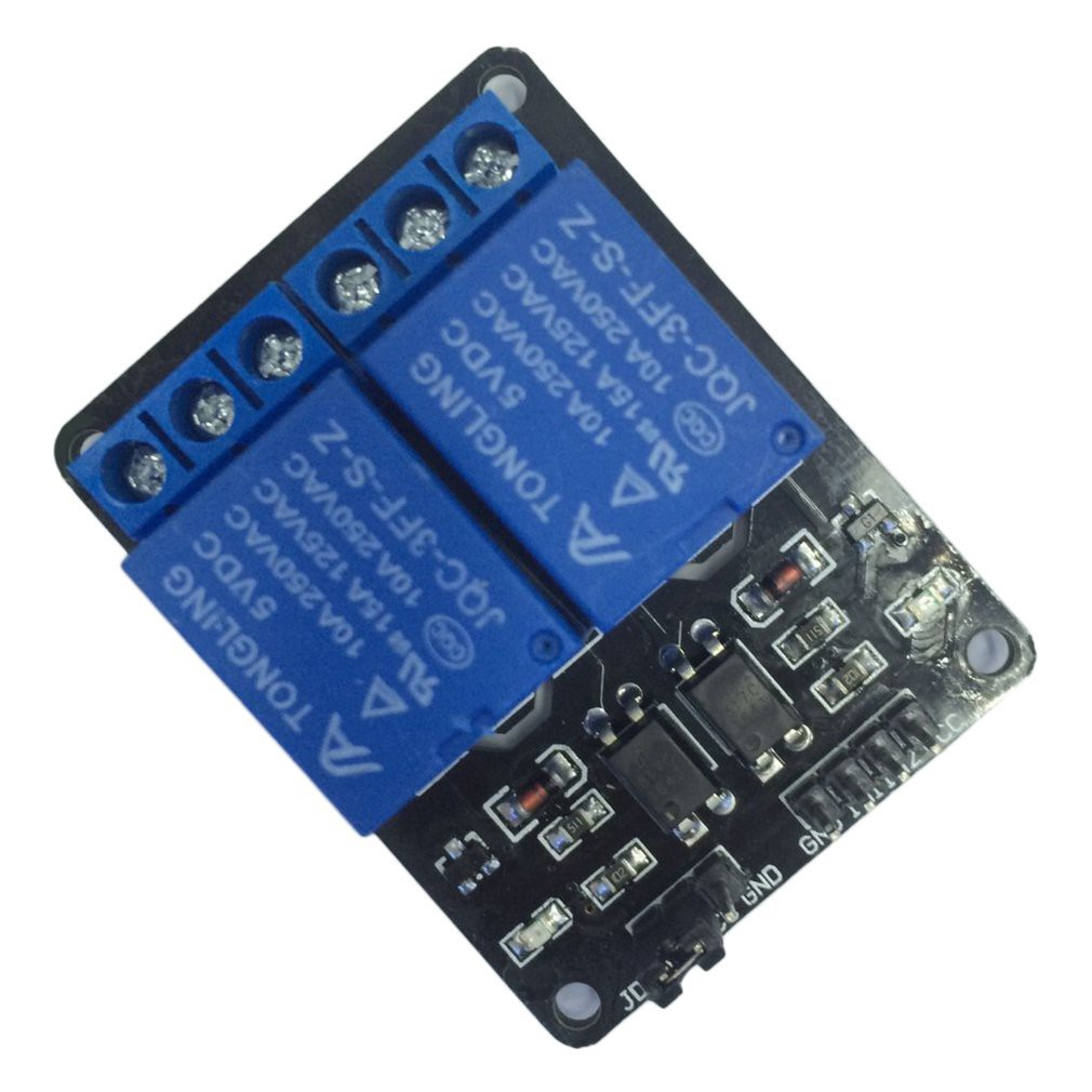 5V 2 Channel for Arduino ARM PIC AVR Electronic MCU DSP Shield Relay Module Giá chỉ 23.990₫