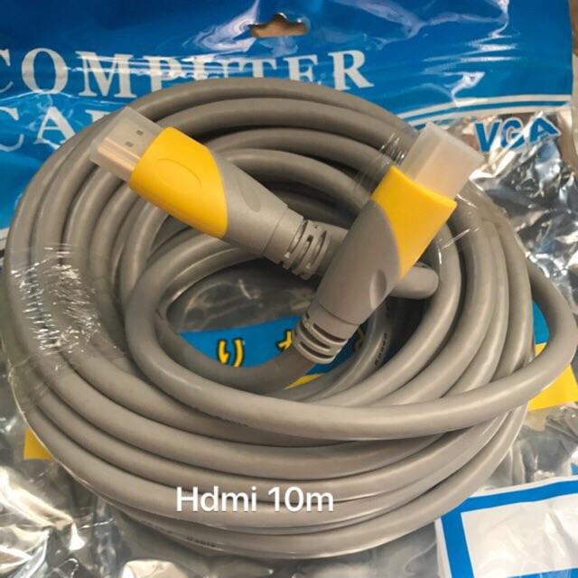 Cáp HDMI ARIGATO 10m lõi đồng HDTV 4K*2K (19+1) - Dây HDMI To HDMI tròn chuẩn FULL HD 1080p