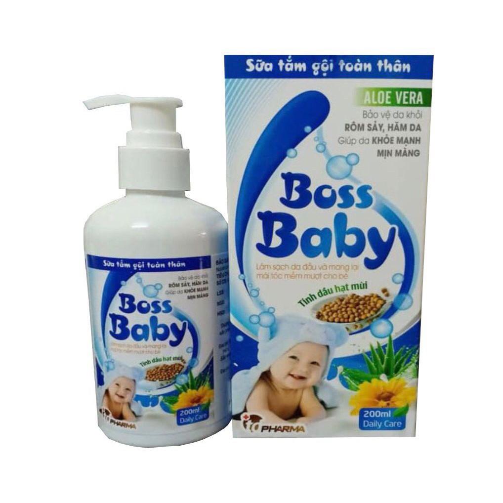 Sữa tắm gội toàn thân cho bé Boss Baby