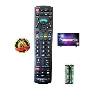 Điều khiển tivi Panasonic các dòng tivi Panasonic LCD/LED Smart- Hàng tốt Tặng kèm Pin tiện dụng