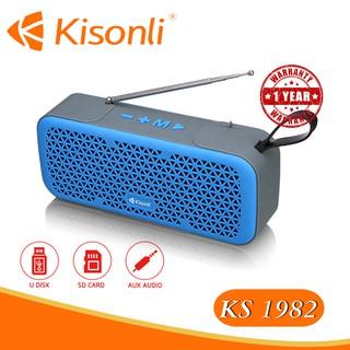 [Bảo hành 12 tháng] _ Loa Kisonli Bluetooth KS-1982 - Màu sắc ngẫu nhiên