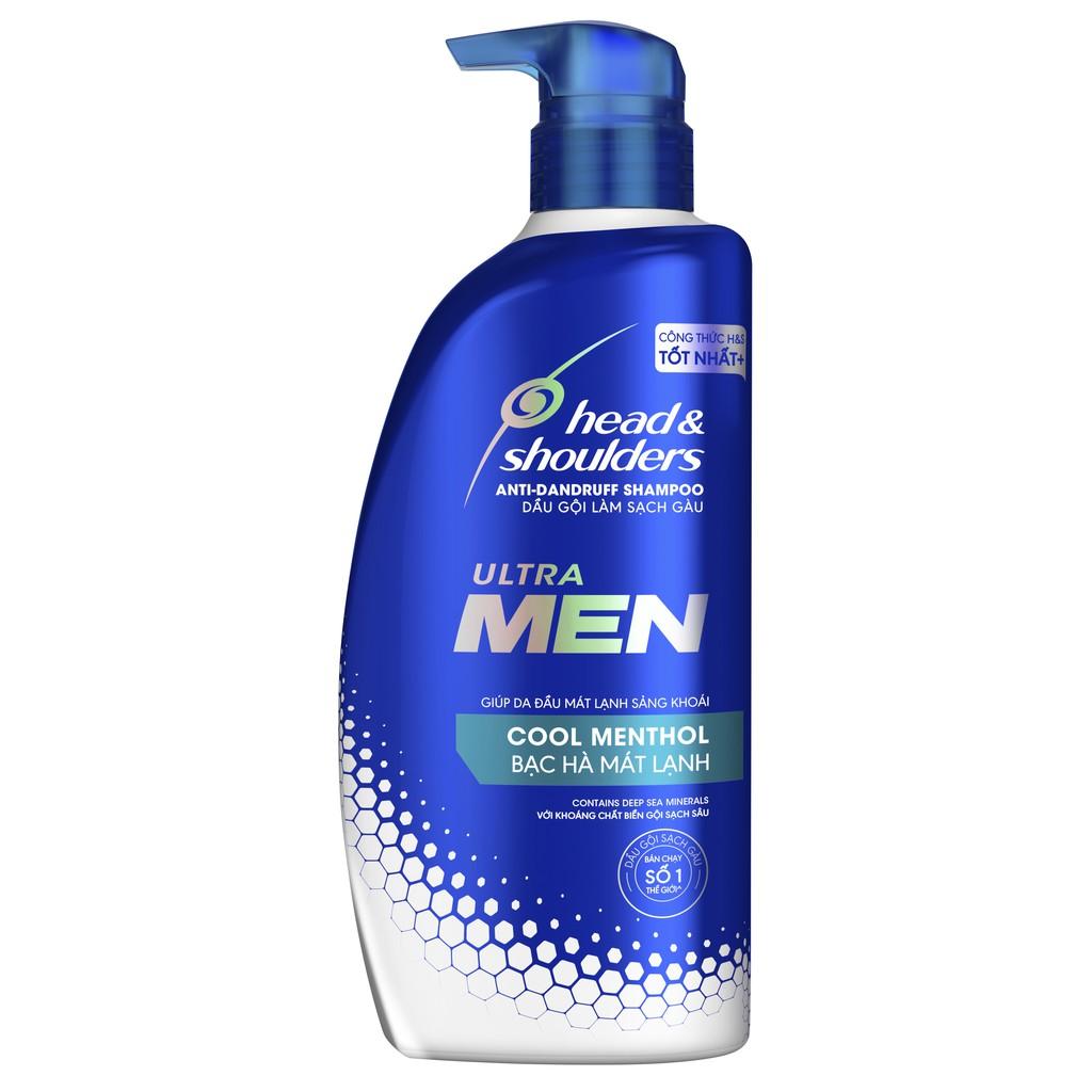 Hình ảnh [HCM] Bộ quà tặng: Dầu gội Head&Shoulders Ultramen 550ml tặng Lăn khử mùi Old Spice-3