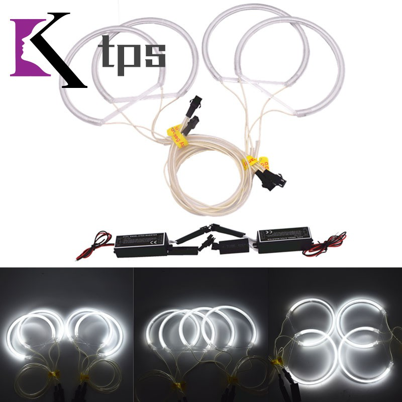 4pcs/set CCFL Angel Eyes Lights Circle Shockproof 131mm Set Fit for BMW Series
