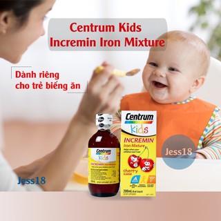 Centrum kids Incremin Iron Mixture Ibổ sung vitamin tổng hợp. Hàng chuẩn Úc date xa thumbnail
