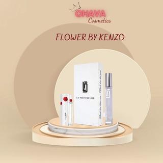 Tinh Dầu Nước Hoa Nữ FLOWER BY KENZO LD PERFUME OIL 12ml Chính Hãng Tao nhã Sang trọng thumbnail