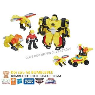Đội cứu hộ Bumblebee và các Robot cộng sự – TRANSFORMER Bumblebee Rock Rescue Team
