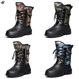 LL Men Winter Snow Boots Waterproof Insulated Outdoor Hunting Hiking Shoes @VN