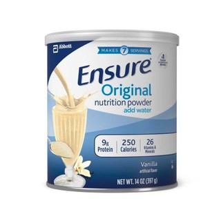 Sữa Bột Ensure Original Nutrition Powder (397g) - Mỹ thumbnail