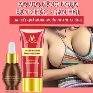 [Hàng mới về] MYQ Combo Nâng Ngực 1 Tinh Dầu Hoa Oải Hương + 1 Kem Massage Nở Ngực Chiết Xuất Bơ Hạt Mỡ