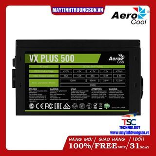 Nguồn Máy Tính Aerocool VX PLUS 500 500W 230V N-PFC Có TTBH Tại Hà Nội & TPHCM Đẳng Cấp Gaming thumbnail
