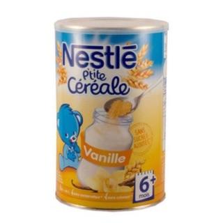Bột pha sữa Nestle 6M+ vị vanille loại 400g - Bột lắc sữa Nestle thumbnail