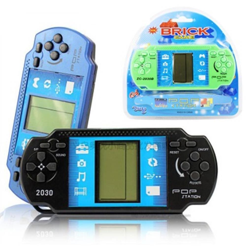 Máy chơi game xếp gạch cầm tay mini màn hình LCD siêu thú vị dành cho các bé tránh hư mắt hơn chơi điện thoại