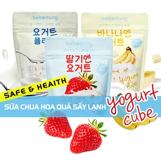 Yogurt Sữa chua hoa quả sấy lạnh Bebedang (Combo 3 vị) thumbnail