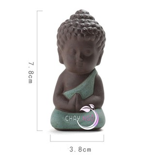 Bộ 4 tượng Phật chấp tay 7