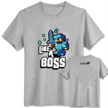 Áo Thun Minecraft Like a Boss