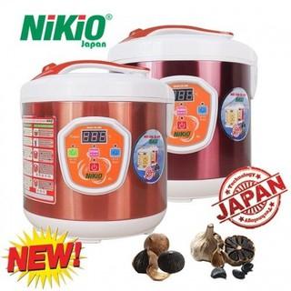 [DÒNG CAO CẤP] Nồi làm tỏi đen tùy chỉnh Nhật Bản Nikio NK-686 - Model 2019 - CHÍNH HÃNG GIÁ TỐT