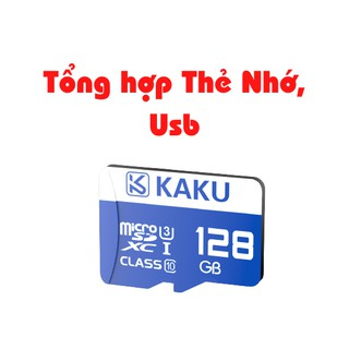 Tổng hợp usb, thẻ nhớ chính hãng KAKU thumbnail